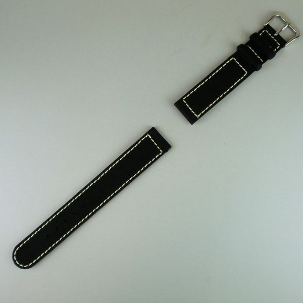 VAGUE  BELT 16mm BLACK