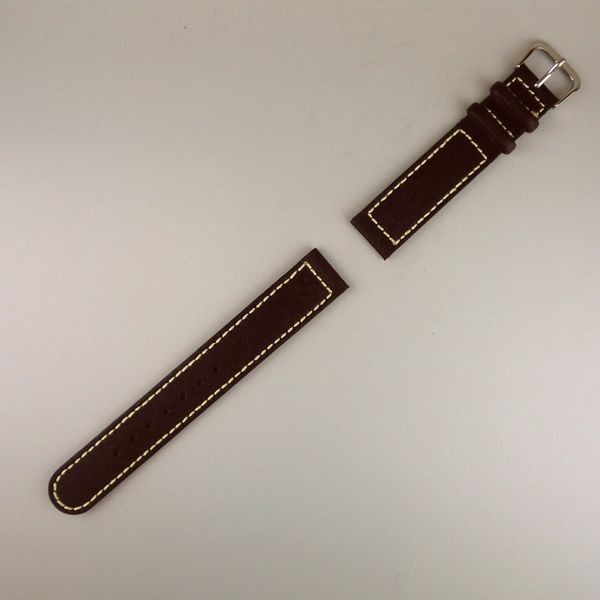 VAGUE BELT 16mm D-BROWN